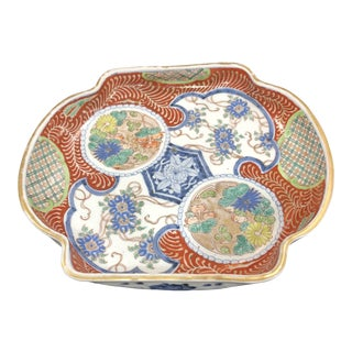19th Century Imari Dish For Sale