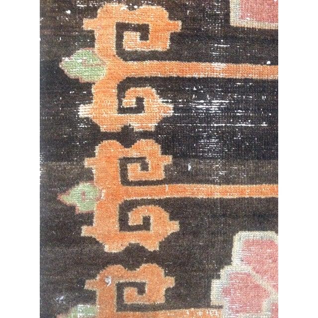 """Tibetan Lotus Pattern Rug - 3'1"""" x 5'9"""" - Image 4 of 7"""