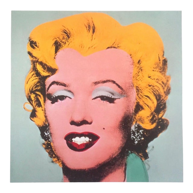 """Andy Warhol Estate Rare Vintage 1989 Collector's Pop Art Lithograph Print """" Marilyn """" 1964 For Sale"""