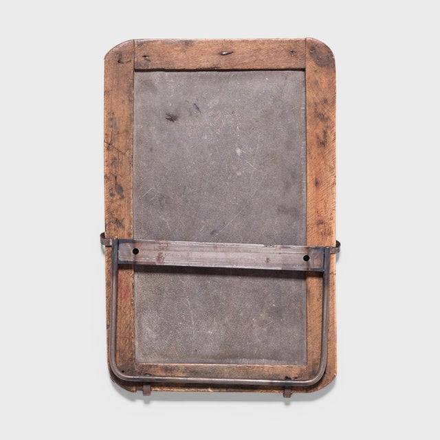 Wood Vintage Chinese School House Slate Boards - Set of 3 For Sale - Image 7 of 8