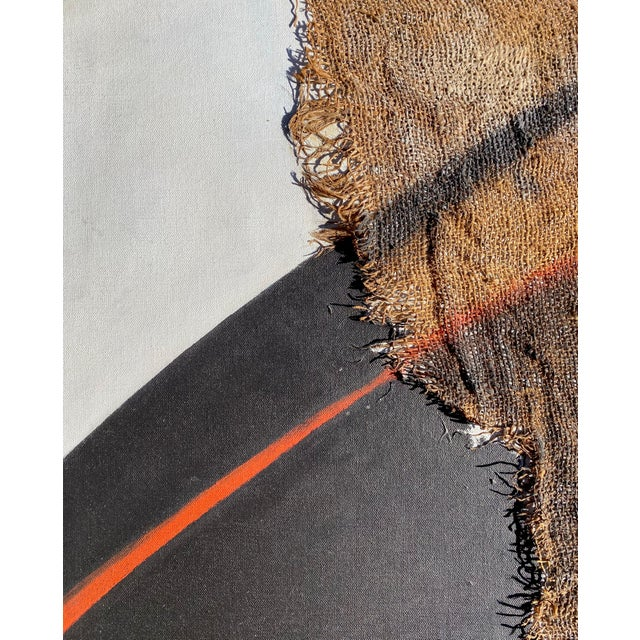 Contemporary Abstract Mixed-Media on Canvas by Founder of Torpedo Factory For Sale - Image 3 of 7
