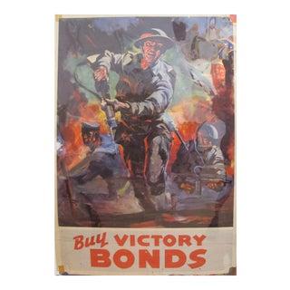 1917 Original American Wwi Propaganda Poster - Buy Victory Bonds