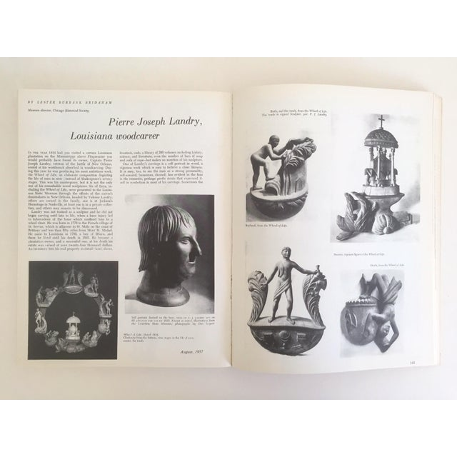 "Various Artists "" Folk Art in America "" Vintage 1979 1st Edition Decorative Fine Arts Design Book For Sale - Image 4 of 7"
