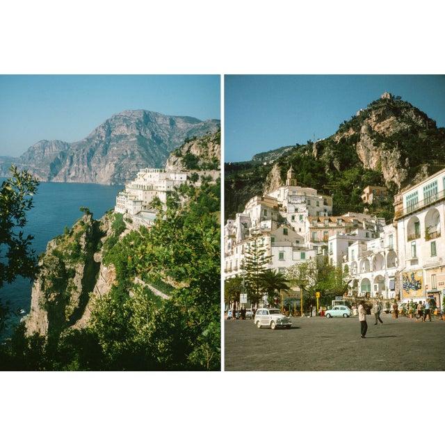 Vintage 1960s Italy Amalfi Coast Film Photograph Prints - Set of 2 For Sale