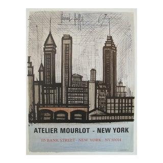 1967 Bernard Buffet Poster, Atelier Mourlot New York