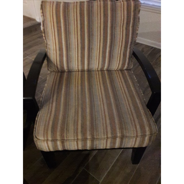 Mid Century Playboy Style Chairs - Pair - Image 3 of 6