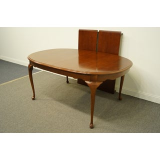 Stanley Furniture Cherry Traditional Style Oval Dining Table Preview