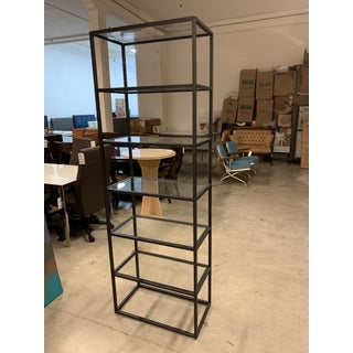 Mitchell Gold & Bob William Fritz Metal + Glass Bookcase Preview