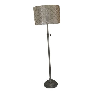 Crate & Barrel Art Deco Floor Lamp For Sale