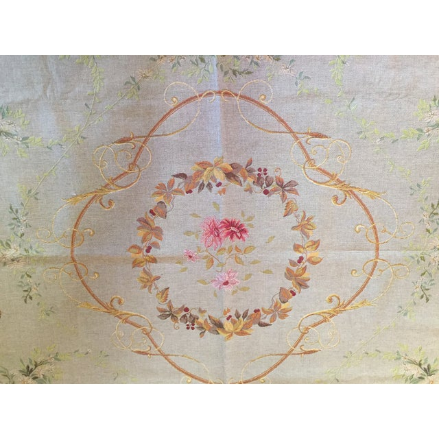 Baroque French Baroque Style Tapestry For Sale - Image 3 of 12