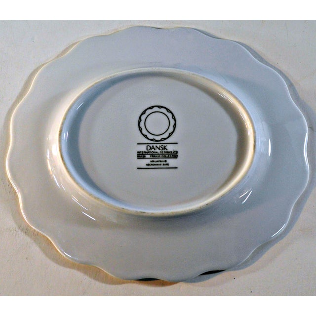 Dansk White Portugal Oval Candy Plate - Image 7 of 7
