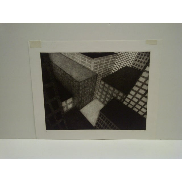 "This is a limited edition, numbered (ED/10) and signed print, titled ""Stonehinge White"" by Michael Di Culp. Circa 1978."