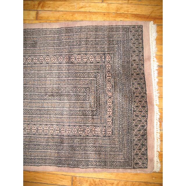 Vintage Bokhara Brown Runner - 2'3'' X 11' - Image 4 of 4
