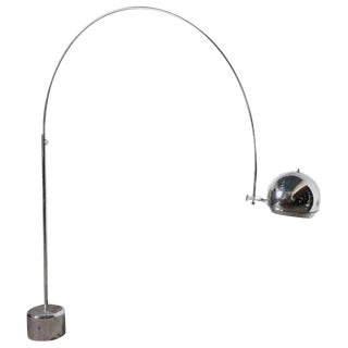 Dutch Mid-Century Modern Arc Floor Lamp Designed by Gepo Amsterdam For Sale