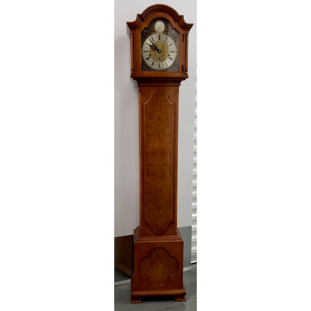 Vintage Tall Case Clock by Elliott, England For Sale - Image 13 of 13