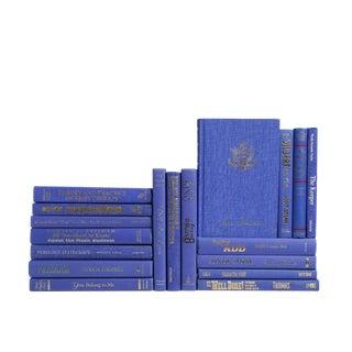 Modern Indigo Blue : Set of Fifteen Decorative Books