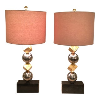 Custom Art Deco Lamps For Sale