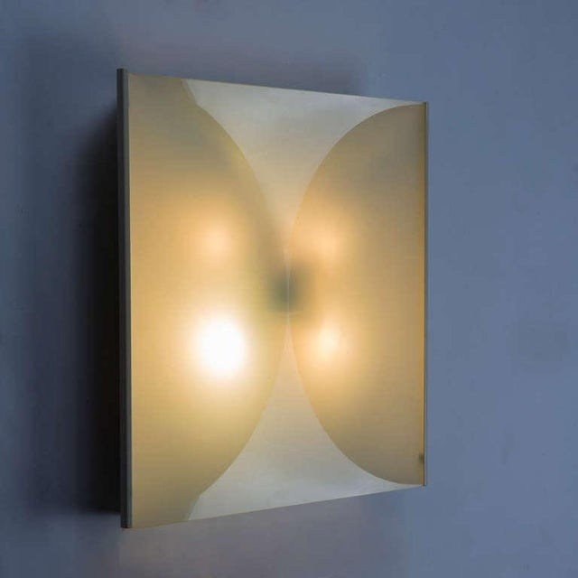 """""""Clessidra"""" Sconce By Bobo Piccoli for Fontana Arte For Sale - Image 5 of 5"""