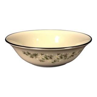 1990s Traditional Lenox Brookdale Desert/Fruit Bowls - Set of 8 For Sale