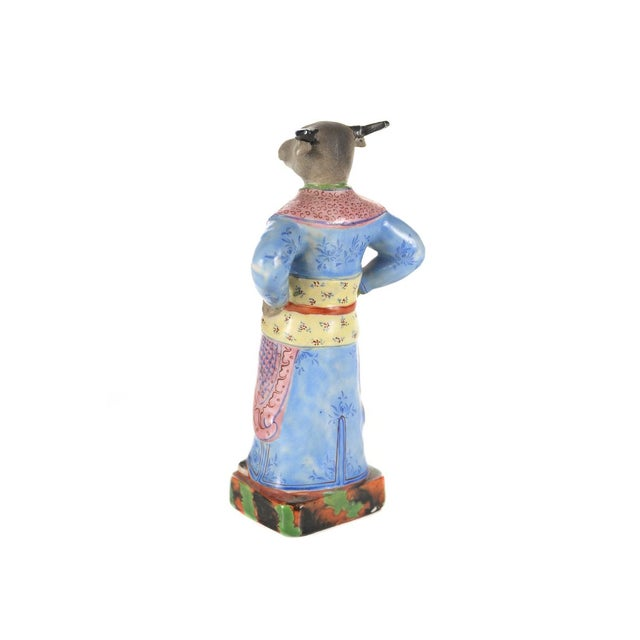 Asian Vintage Chinese Zodiac Porcelain Figurines - Set of 12 For Sale - Image 3 of 9