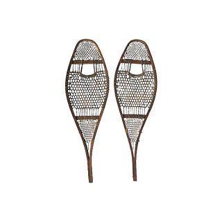 Early Handmade Snowshoes For Sale