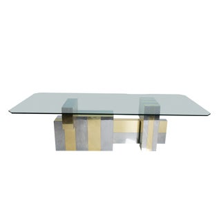 "Paul Evans ""Quilted Cityscape"" Dining Table For Sale"