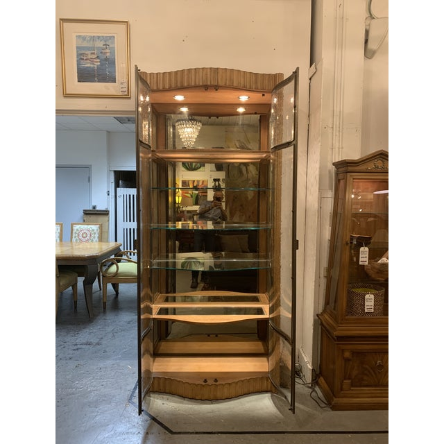 Century Furniture Century Furniture Bunching Display Cabinet For Sale - Image 4 of 10