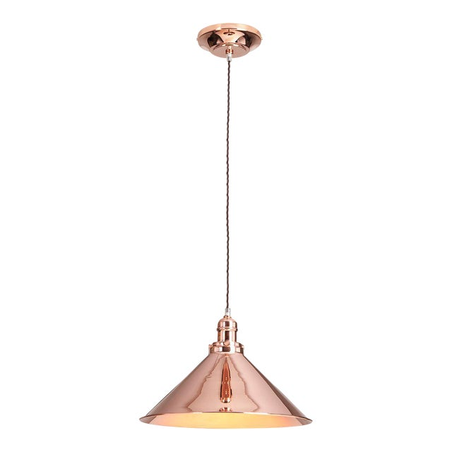 Provence Pendant in Polished Copper - Image 1 of 3