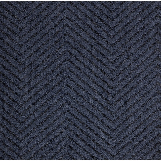 2010s Charles Stewart Bromley Sofa in Indigo Inside/Out Fabric For Sale - Image 5 of 6