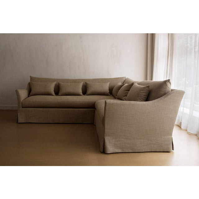 Not Yet Made - Made To Order Seine III Sectional Sofa For Sale - Image 5 of 5