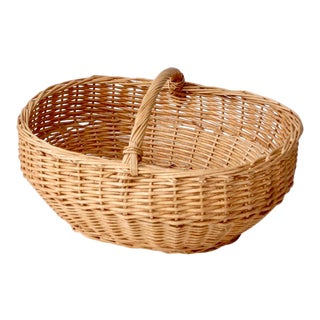 Vintage Harvest Basket For Sale