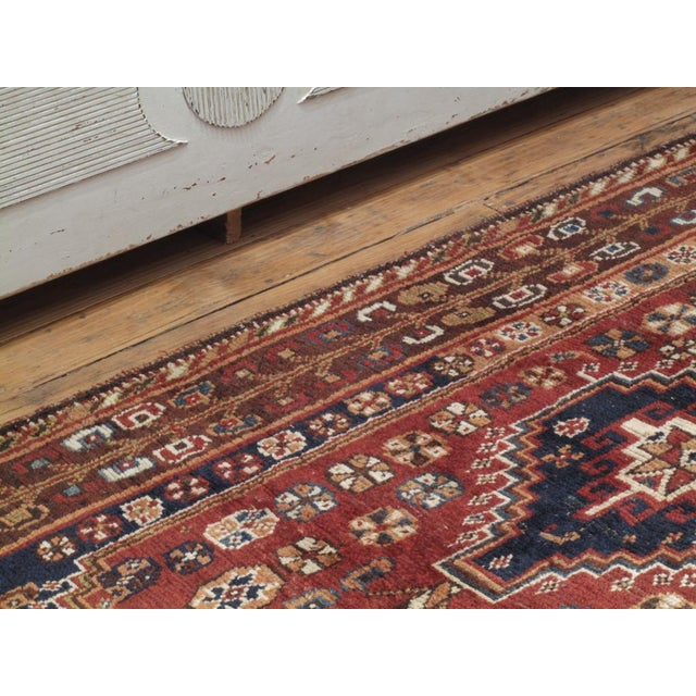 Red Qashqai Rug For Sale - Image 8 of 8