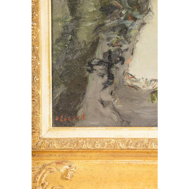 Portraiture Signed Dietz Edzard - Oil on Canvas For Sale - Image 3 of 4