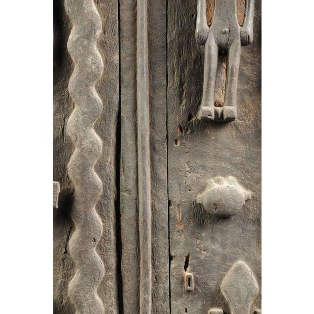 Monumental Hardwood African Granary Door - Image 8 of 9