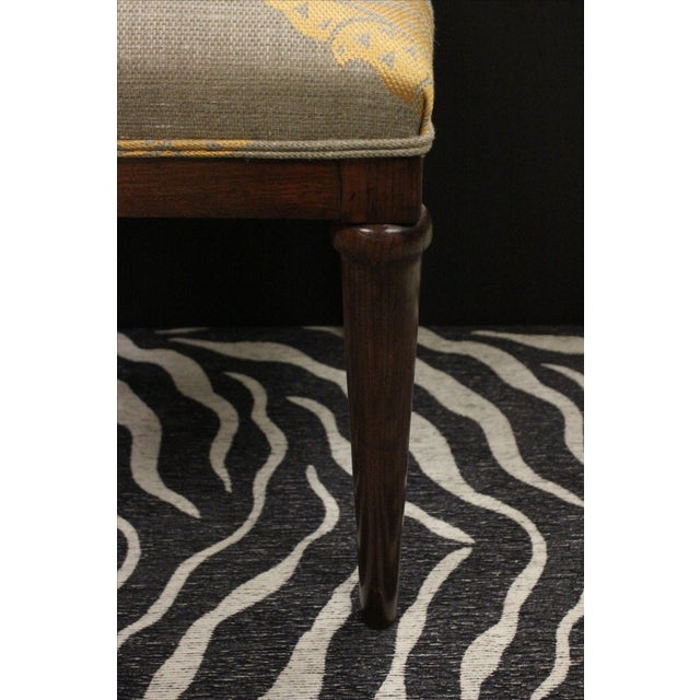 Mahogany Side Chairs - A Pair For Sale - Image 5 of 7