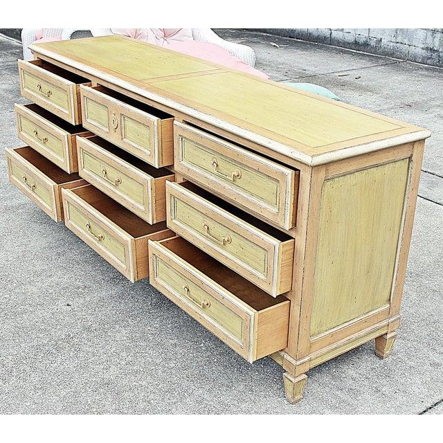 Painted Baker Triple Dresser - Image 6 of 8