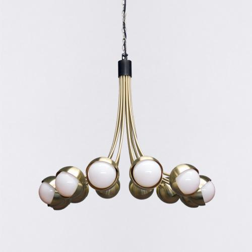 Contemporary The Benedict Chandelier by Trella For Sale - Image 3 of 3