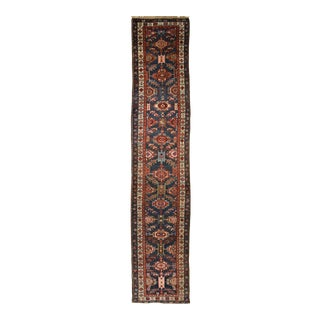 Antique Persian Bakshaish Runner For Sale