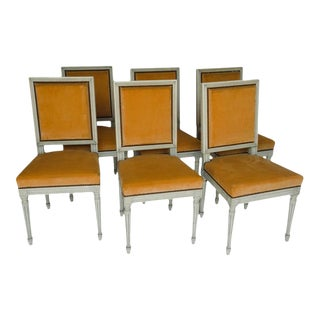 Set of 6 Louis XVI Chairs For Sale