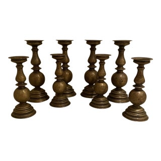 Trammel Gagne Candlesticks - Set of 10 For Sale