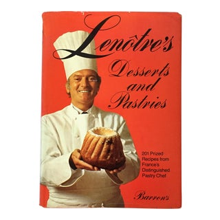 """Lenotre's Desserts & Pastries"" 1977 First English Edition Cookbook For Sale"