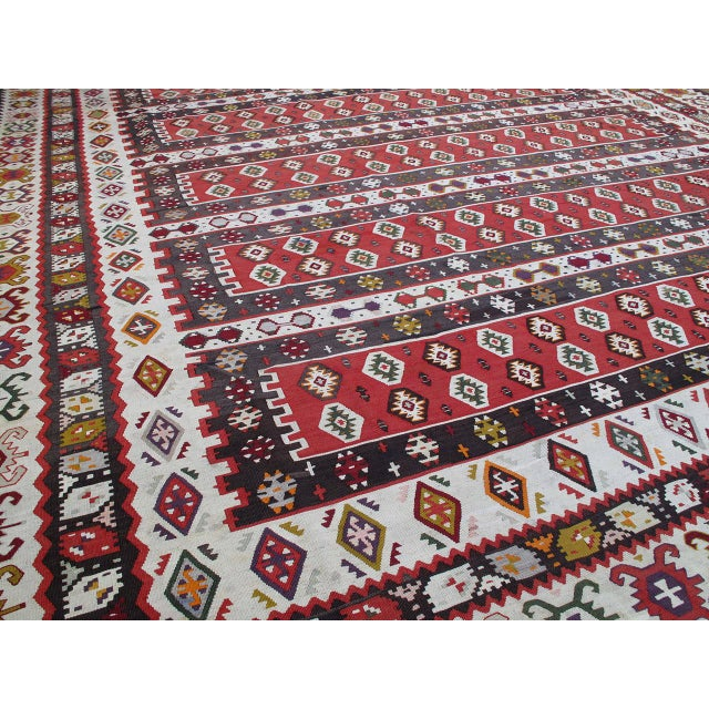 Islamic Balkan Kilim For Sale - Image 3 of 9