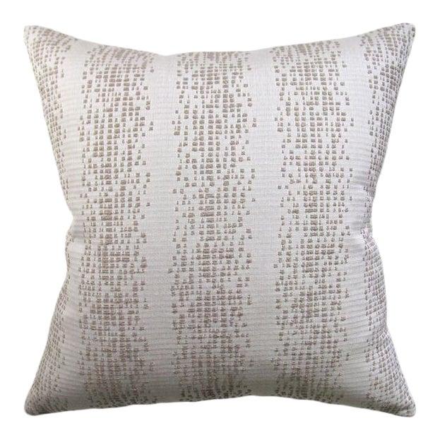 Lee Jofa Custom Fabric Knife-Edge Pillow For Sale