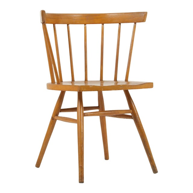 1940s Vintage George Nakashima for Knoll Straight Chair For Sale