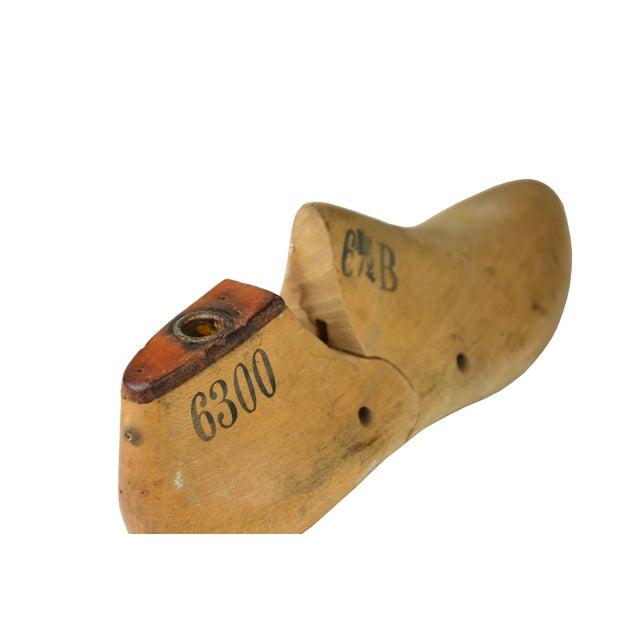 Vintage Cobbler's Wooden Shoe Form - Image 3 of 4