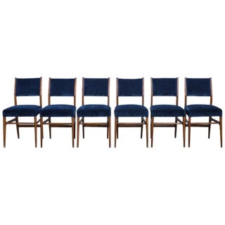 Set of 6 Gio Ponti Dining Chairs for Cassina, Italy, 1950s For Sale