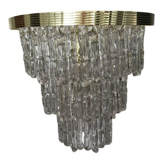 Mid-Century 3 Tiered Hanging Icicle Light For Sale