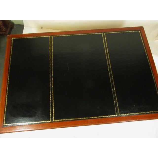 1900 - 1909 1900s Edwardian Partners Desk For Sale - Image 5 of 13