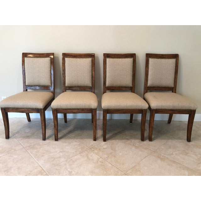 Bausman & Company Bench Made Side Chairs - Set of 4 For Sale - Image 13 of 13