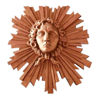 Le Roi Soleil Louis XIV Sculpted Head For Sale